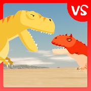T-Rex Fights Carnotaurus 0.6