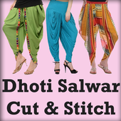 Dhoti Salwar Cutting Stitching 6.6