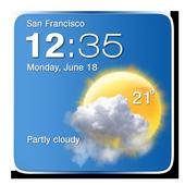 Digital Clock Weather Widget 1.7