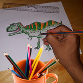 Dinosaurs Coloring Book Games for Kids Free 1.1
