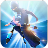 Subway Burka : Ninja Rush 3D