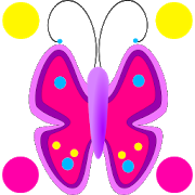 Flowers Butterfly Doodle Text! 1.3