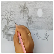 Drawing Natural Scenery Step By Step 1.0