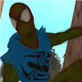 Spider hero vs lizard 2.0