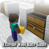 Map Extreme Wool Race Game Minecraft 1.0