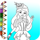 Princess Coloring Book Game 2018 ❤ 1.1