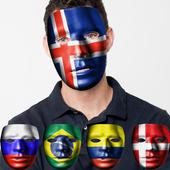 Flag Masks 2018 World Cup 1.0