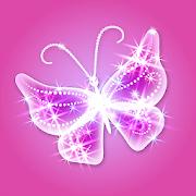 Glitter Butterfly Wallpaper 1.6