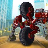 Futuristic Robot Excavator 2.0