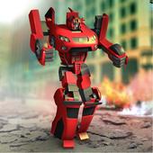 Futuristic Robot Hero X 3.0