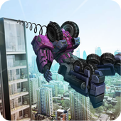 Futuristic Robot: Rope Hero 1.0