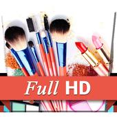Makeup Cosmetics Brushes LWP 1.0