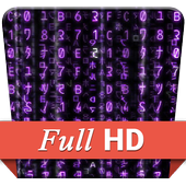 Matrix Purple Code HD LWPGlamour AppLifestyle
