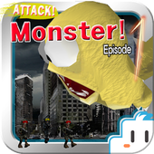 Attack! Monster! destroy city!