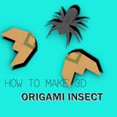 Origami Insect 3D Tutorials 1.1