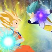 Super Saiyan God Goku v Ultra Instinct Blue Vegeta 1.01