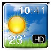 HD Weather and Clock Widget 1.7
