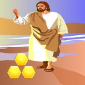 Block Hexagon Jesus Christ 1