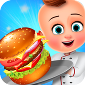 Little Baby Burger Cooking - Restaurant Free Game 1.1
