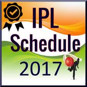 IPL Schedule 2017 1.0