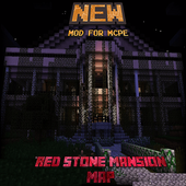 Red Stone Mansion Map for MCPE 1.0