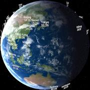 World Time Globe 世界時計地球儀 2.0