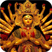 Goddess of India. Wallpaper 1.0
