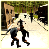 Zombie Hunting Game in Down town 1.0
