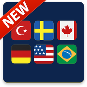 Flags of The World. Guess-Quiz of all Countries 2.5