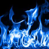 Blue Fire Live Wallpaper 1.02