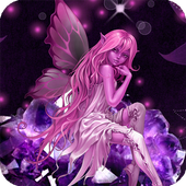 Pink Fairy HD Live Wallpaper 1.7