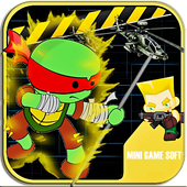 Turtles Fighting Ninja Games 1.0