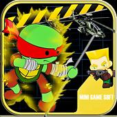 Turtles Fighting Ninja Games 1.0