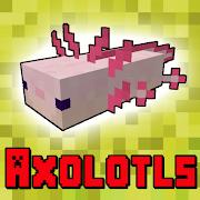 Axolotls Mod for Minecraft PE 7.1
