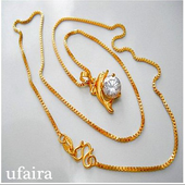 Model Gold Necklace 1.0