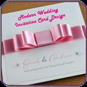Modern Wedding Invitation Card Design 1 0 Apk Download