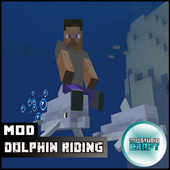 Dolphin Riding Mod for MCPE 1.0