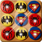 Superhero Nice Cookies Screen Lock 1.0