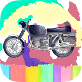 Motorcycle Speed Race Coloring 1.0