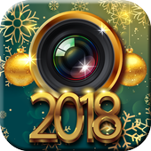 New Year Photo Stickers - Cool Backgrounds