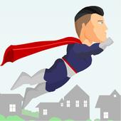 Flying Superhero: Flight Training 0.17