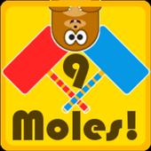 9 Moles! 1.0