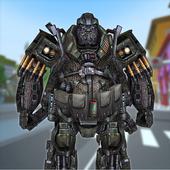 Old Futuristic Robot War 2.0