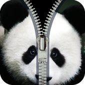panda fake zipper lock 2.0