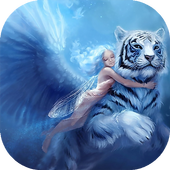 Blue Fairy Wallpaper 1.1