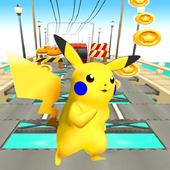 Running Pikachu Subway  City 1.0