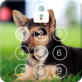 German Shepherd Dog PIN Lock Screen Password
