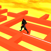 Ninja Running on Dancing Line - Floor Lava path 1.0