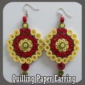 Quilling Paper Earring 1.1