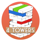 4 Towers : Tower blocks 1.0.2